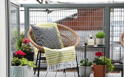 Tips & Tricks: cum amenajezi o gradina, terasa sau balcon daca stai la bloc